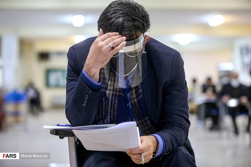 رعایت پروتکل های بهداشتی فردی در آزمون دکتری ۱۴۰۰ در دانشگاه شهید بهشتی