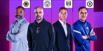 نامزدهای بهترین سرمربی ماه لیگ برتر انگلیس