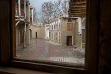 روستای ابیانه کاشان در پارک ملی ایران کوچک به مساحت 1500 متر مربع