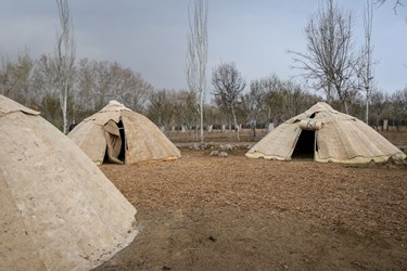 روستای عشایر شاهسون در پارک ملی ایران کوچک
