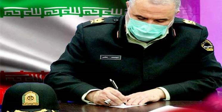 پیام تبریک فرمانده انتظامی خوزستان به مدیر خبرگزاری فارس در خوزستان