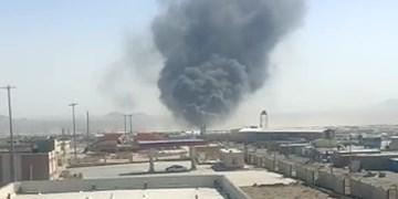 آتشسوزی در پایانه مرزی ماهیرود در داخل افغانستان/ نقطه صفر مرزی از بارهای صادراتی تخلیه شد