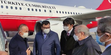 سفر وزیر خارجه ترکیه به «اورگنج» ازبکستان