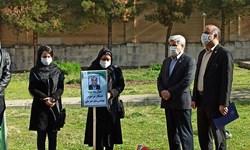 کاشت نهال یادبود همکاران متوفی بر اثر کرونا در مخابرات منطقه کرمانشاه