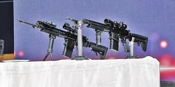 نسخه جدید سلاح انفرادی «مصاف» رونمایی شد