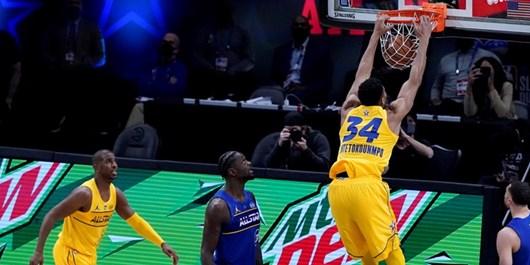 یاران پادشاه بازی ستارگان NBA را بردند+عکس