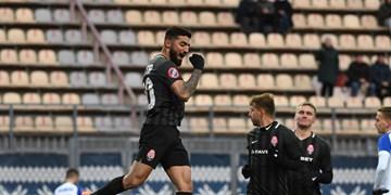 لیگ فوتبال اوکراین| صیادمنش در ترکیب زوریا و نیمکت نشینی زاهدی