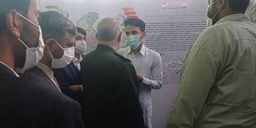 حضور متفاوت بسیج دانشجویی سیستان و بلوچستان در یک رویداد علمی