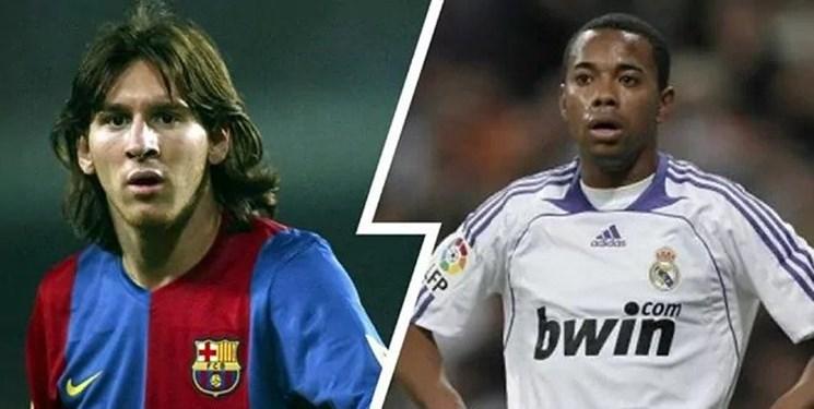 روزی که بارسلونا روبینیو را به خاطر مسی نخرید