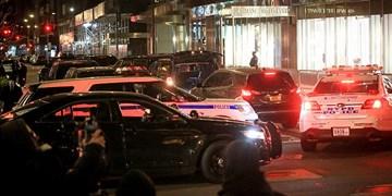 تشدید تدابیر امنیتی اطراف برج ترامپ در پی ورود او به نیویورک +فیلم