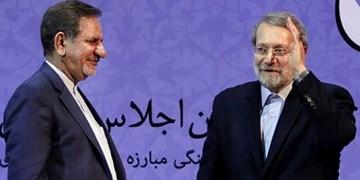 آیا جهانگیری به نفع لاریجانی کنار گذاشته می شود؟/ انبارلویی: آمدن یا نیامدن، دام اصلاحطلبان برای انحراف اذهان عمومی است