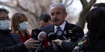درخواست رئیس پارلمان ترکیه برای تصویب قانون اساسی جدید