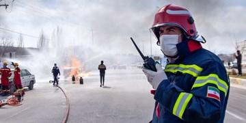 نجات ۷۰۴ شهروند کاشانی به دست آتشنشانان در سال ۹۹
