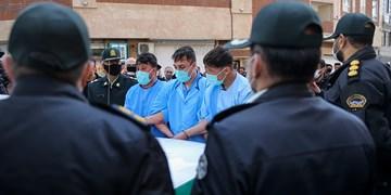 دستبند پلیس بر دستان اراذل و اوباش«فلاح»/ عاملان تخریب ۵ خودرو دستگیر شدند