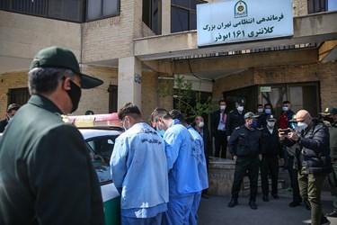 دستگیری اراذل و اوباش محله فلاح توسط کلانتری ۱۶۱ ابوذر
