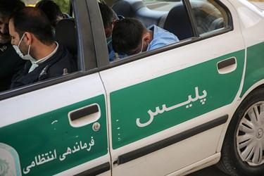 انتقال اراذل و اوباش محله فلاح به محل وقوع جرم در منطقه زمزم