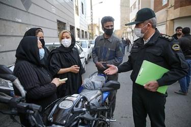 شکایت اهالی محله وقوع جرم از ایجاد رعب و وحشت اراذل و اوباش محله فلاح تهران