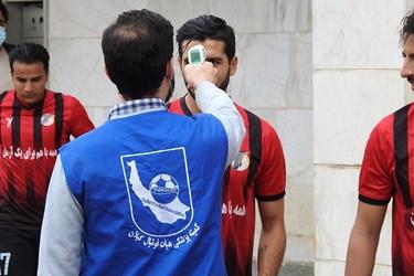 عکس| پیروزی چوکا در ایستگاه پایانی نیمفصل