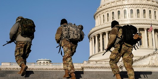 ساختمان کنگره آمریکا به دلیل تهدید امنیتی مسدود شد