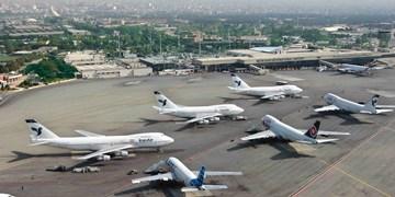 کاهش 25 درصدی نشست و برخاست هواپیماها/ تعداد پروازهای عبوری از فضای کشور نزولی شد