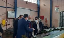 گزارش فارس از بازدید کمیسیون صنایع و معادن مجلس از واحدهای صنعتی کردستان