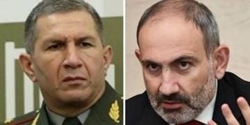 جدال بین نخستوزیر و رئیس ستاد کل ارتش ارمنستان بالا گرفت