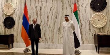 وزیر خارجه ارمنستان با همتای اماراتیاش دیدار کرد