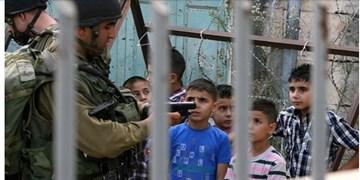 دستگیری ۵ کودک فلسطینی توسط نظامیان صهیونیست+فیلم