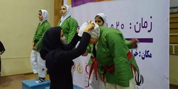 پایان هشتمین دوره مسابقات کوراش بانوان کشور در بجنورد