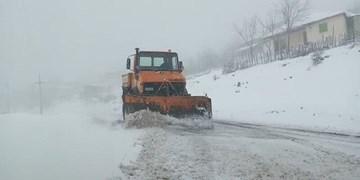 فیلم | وضعیت برفی جادههای خراسان شمالی