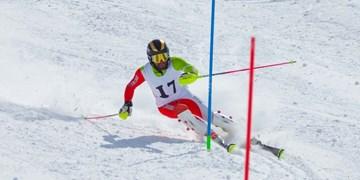 برتری کیادربندسری و احمدی در مرحله دوم اسکی آلپاین
