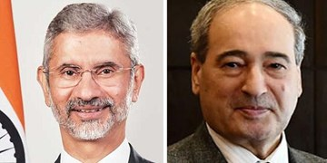 تأکید هند و سوریه بر گسترش روابط دو جانبه