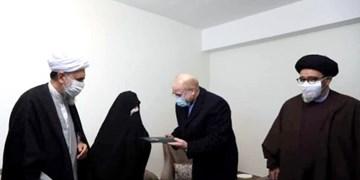دیدار رئیس مجلس با خانواده شهیدان «محمدپور صبور» و «اسماعیلزاده تسوجی» در تبریز