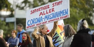 اعتراضات به محدودیتهای کرونایی در آلمان