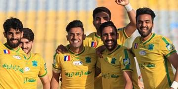 یک شانزدهم جام حذفی| نفت آبادان حریف تهرانی را گلباران کرد/شاگردان پورموسوی آخرین تیم صعودکننده