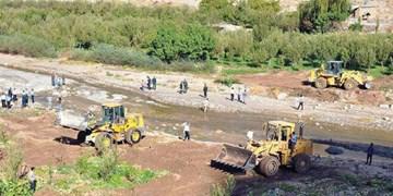 حریم رودخانههای جم از چنگ زمینخواران خارج شد