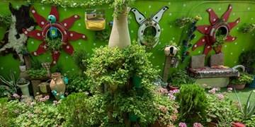 عطر خوش کارآفرینی در محلهای متروکه/ ماجرای ساخت بزرگترین سفره هفتسین بازیافتی کشور با دست خالی