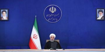 بهرهبرداری و شروع عملیات اجرایی خط دوم انتقال آب خلیج فارس به مشهد با فرمان رئیس جمهور