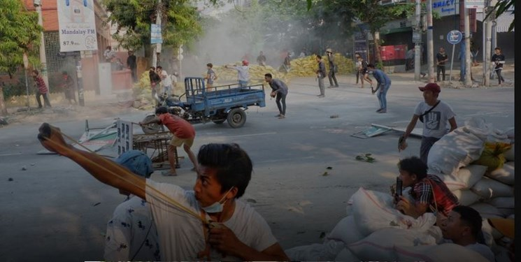 کشته شدن 39 نفر در اعتراضات روز یکشنبه در میانمار