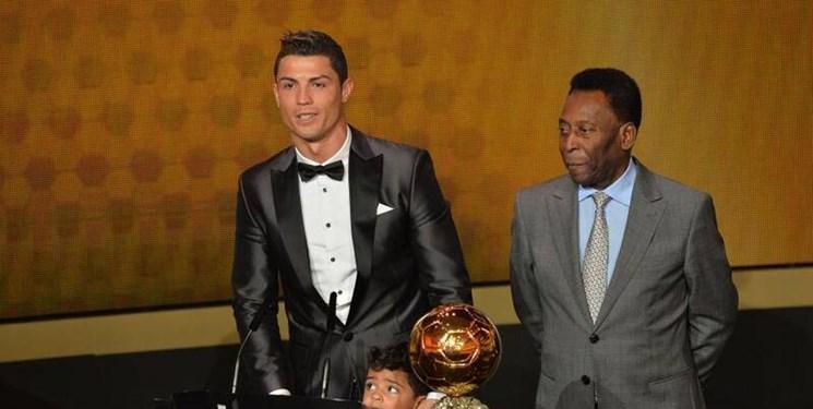 دل نوشته رونالدو برای پله و هواداران بعد از کسب عنوان بهترین گلزن تاریخ فوتبال