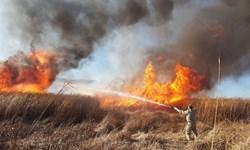 آتش زدن پس مانده محصولات کشاورزی و بقایای گیاهی غیرقانونی و  جرم  است