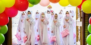 جشن تکلیف در امامزاده پنج تن