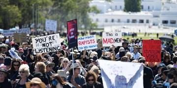 تظاهرات هزاران معترض به آزار جنسی زنان در استرالیا