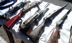 کشف ۷۳۸ سلاح از باند قاچاق سلاح و مهمات در ایلام