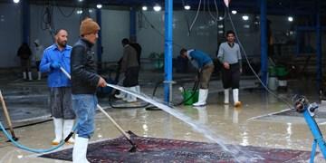 حال و هوای شب عید قالیشوییها در اصفهان
