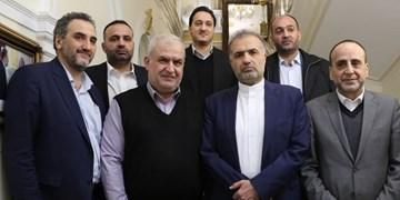 دیدار هیأت حزب الله با سفیر ایران در مسکو