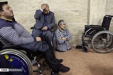 دیدار جانبازان دفاع مقدس با آیت الله سید ابراهیم رئیسی/ ستاد انتخاباتی ریاست جمهوری