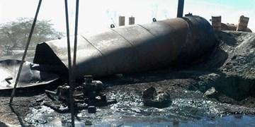 انفجار تانکر قیر در جاجرم  ۲  مصدوم بر جای گذاشت
