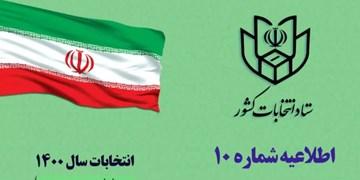 ثبت نام داوطلبان انتخابات شوراها در فرمانداریها تا ساعت ۲۰ امشب ادامه دارد