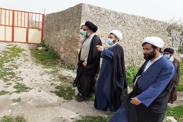 بازدید نماینده ولی فقیه در استان از بافت تاریخی دهدشت